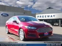 RUBY RED 2016 Ford Fusion SE FWD 6-Speed Automatic