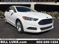 Options:  2016 Ford Fusion Se|All Performed