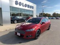 2016 FORD FUSION SE. 2.5, TECH PACKAGE, 18' BLACK