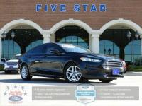 2016 Ford Fusion SE Shadow Black FORD Certified. CARFAX