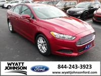 CARFAX One-Owner. Ruby Red Metallic Tinted Clearcoat