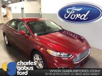 Certified. 2016 Ford Fusion SE Ruby Red Metallic Tinted