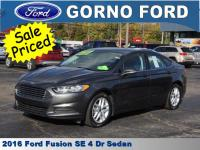 2016 FORD FUSION SE. SE TECH PACKAGE,MY FORD TOUCH