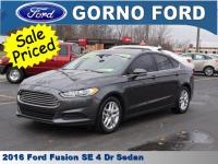 2016 FORD FUSION SE. CARFAX 1-OWNER VEHICLE! INTERNET