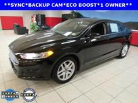 ONE OWNER, BACKUP CAM, ECO BOOST ENGINE, SYNC, Fusion