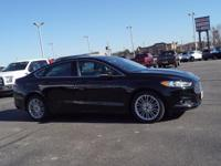 New Price! Shadow Black 2016 Ford Fusion SE FWD 6-Speed