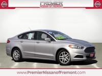 CARFAX One Owner. Ingot Silver 2016 Ford Fusion SE FWD