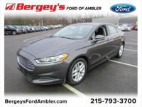Certified. Magnetic 2016 Ford Fusion SE FWD 6-Speed