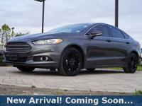 2016 Ford Fusion SE in Magnetic, This Fusion comes with
