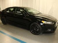 2016 Ford Fusion SE in Black... 6-Speed Automatic.