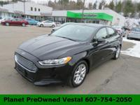 Our 2016 Ford Fusion SE is stunning in Shadow Black!