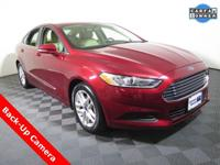 2016 Ford Fusion SE with a 2.5L Engine. Cloth Interior,