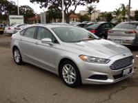 Options:  2016 Ford Fusion 4Dr Sdn Se Fwd Used|Silver