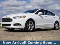 2016 Ford Fusion SE in Oxford White, This Fusion comes
