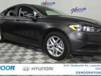 Ford Fusion SE CARFAX One-Owner. 6-Speed Automatic.