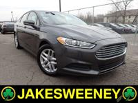 Our One Owner 2016 Ford Fusion SE is gorgeous in Gray