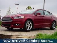 2016 Ford Fusion SE in Ruby Red Metallic Tinted