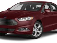 New Arrival! Bluetooth, This Ford Fusion gets great