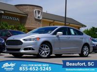 2016 Ford Fusion in Silver. 6-Speed Automatic.
