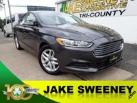 Our One Owner 2016 Ford Fusion SE is stunning in Gray!