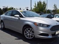 CARFAX One-Owner. Clean CARFAX. Silver 2016 Ford Fusion