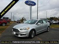 CARFAX One-Owner. Silver 2016 Ford Fusion Titanium AWD