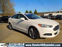 Loaded up, 1 Owner 2016 Ford Fusion Titanium All Wheel