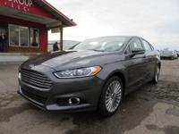 Options:  2016 Ford Fusion Sculpted In Magnetic In The