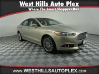 New Arrival! This 2016 Ford Fusion Titanium will sell
