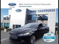 Certified. Shadow Black 2016 Ford Fusion Titanium FWD