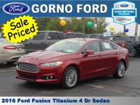 2016 FORD FUSION TITANIUM. HEATED AND COOLED DRIVER AND