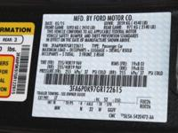 Magnetic 2016 Ford Fusion * BLUETOOTH *, * USB ADAPTER
