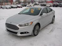 The 2016 Ford Fusion Titanium is the highest of its