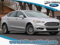 Options:  2016 Ford Fusion Titanium 4D Sedan|Equipment