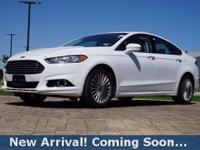 2016 Ford Fusion Titanium in Oxford White, This Fusion