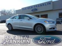 Options:  2016 Ford Fusion Titanium|Silver/|V4 2.0 L