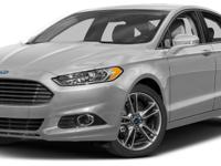 Options:  2016 Ford Fusion Titanium|Miles: 37974Color: