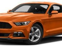 2016 Ford Mustang EcoBoost, The Ford Mustang is an