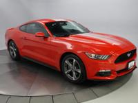 Recent Arrival! 2016 Ford Mustang Red CARFAX One-Owner.