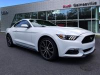 2016 Ford Mustang CARFAX One-Owner. Clean CARFAX.
