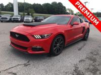 Recent Arrival! 2016 Ford Mustang EcoBoost Premium