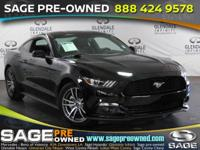 Introducing the 2016 Ford Mustang! The optimal mix of