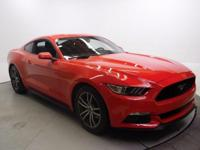 Recent Arrival! 2016 Ford Mustang EcoBoost CARFAX