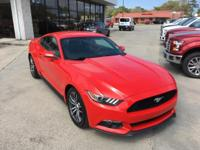 Detroit Muscle! Red and Ready! This 2016 Mustang is for
