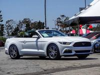 CARFAX One-Owner. Clean CARFAX. White 2016 Ford Mustang