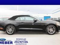 Recent Arrival! Black 2016 Ford Mustang * BLUETOOTH *,