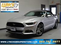 2016 Silver Ford Mustang EcoBoost Premium 6-Speed
