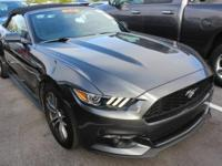 ONE-OWNER, CLEAN CARFAX, and LEATHER. Mustang EcoBoost