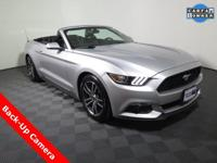 2016 Ford Mustang EcoBoost Premium Convertible with an