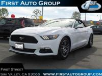 CarFax 1-Owner, This 2016 Ford Mustang EcoBoost Premium
